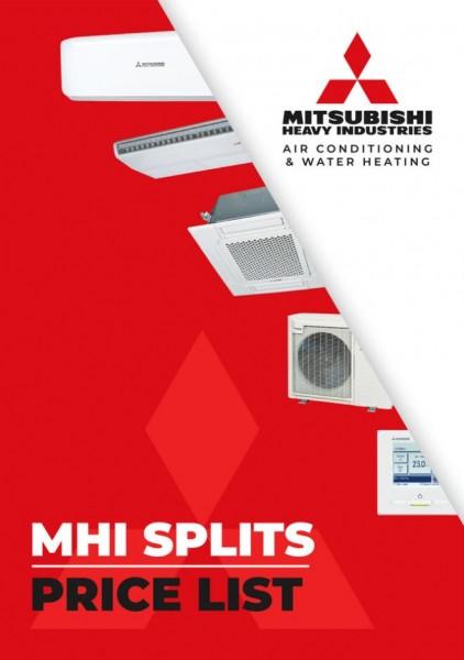 MHI Splits Price List