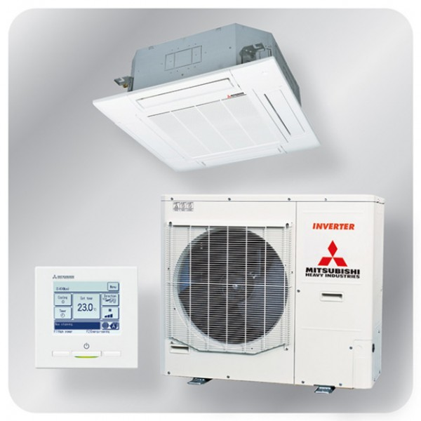 Standard Cassette system 10kw R410A - Micro inverter - 3ph