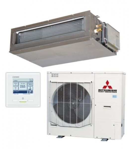 Ducted system 12.5kw R32 - Micro Inverter - 3ph