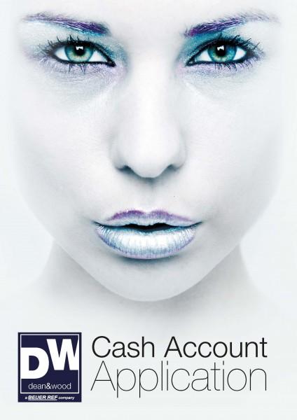 Cash Account Application