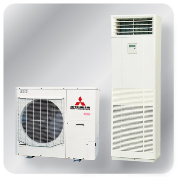 Floor Mounted system 10kw R410A - Micro Inverter