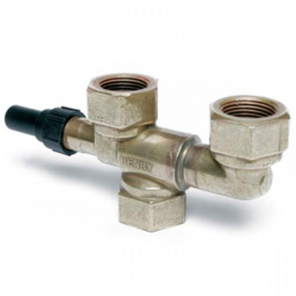 Henry 3-way Dual Shut-Off Valves