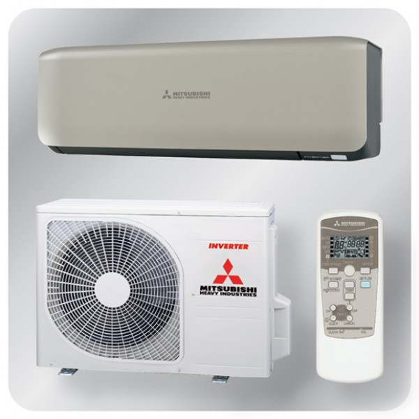 Wall mounted system 2.5kw R410a - premium inverter - Titanium