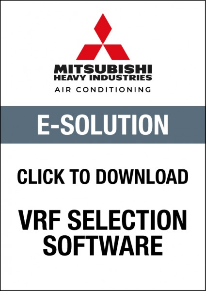 MHI E-Solution VRF Selection Software