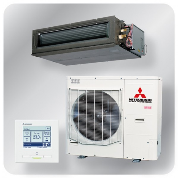 High static Ducted system 12.5kw R410A - Micro Inverter - 3ph