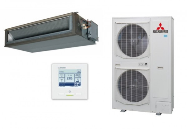 High static Ducted system 25kw R32 - Micro Inverter - 3ph