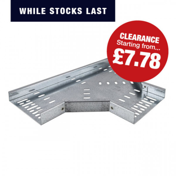 Cable Tray Tee (Pre-Galvanised)