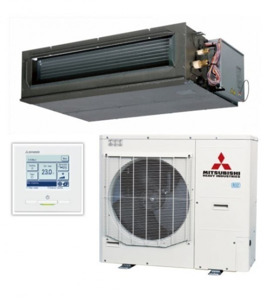High static Ducted system 14kw R32 - Micro Inverter - 3ph