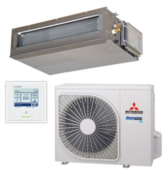 Ducted system 6.0kw R32 - Hyper Inverter - 1ph