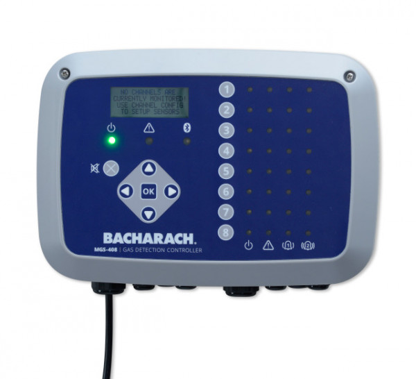 Bacarach MGS408 Range Up to 8 Channel