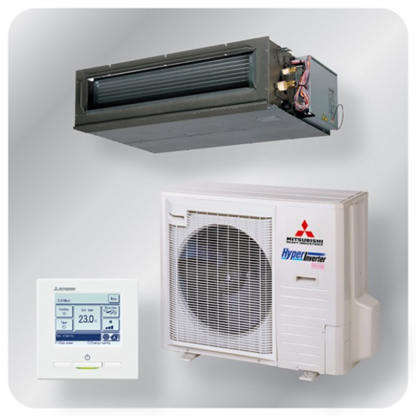 High static Ducted system 10kw R410A - Hyper Inverter