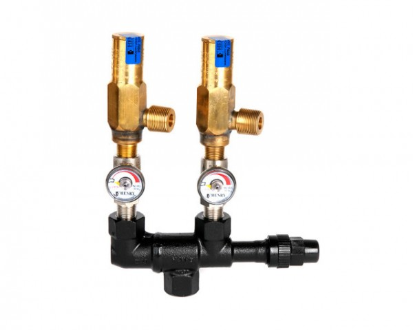 Dual Safety Valves Henry SDK