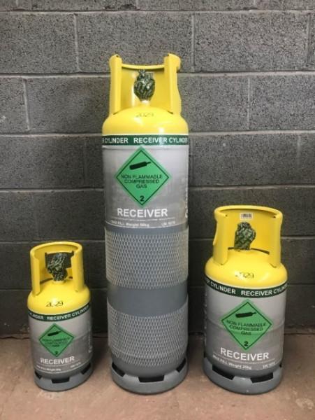 Refrec Receiver Cylinders