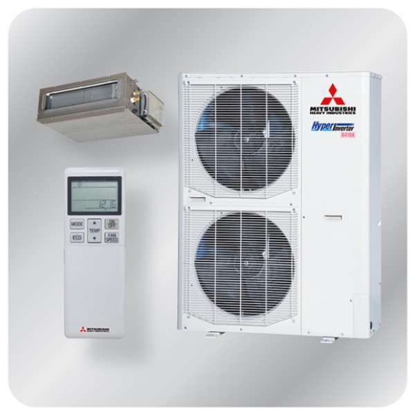 Ducted system 14kw R410A - Hyper Inverter